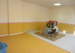 Fussbodenbelag und Wandbeschichtung